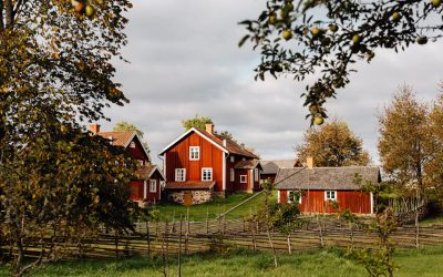 Besök Åsens by i Kristihimmels färd